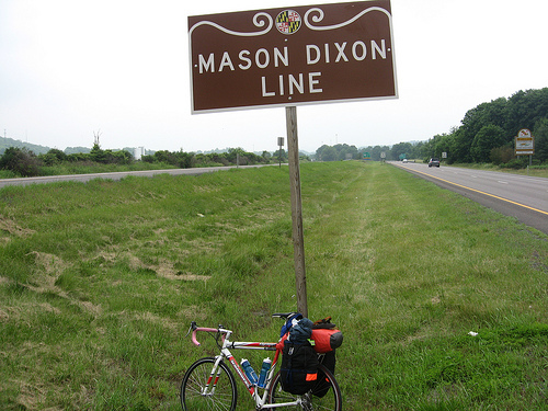 The Mason Dixon Line   The Carpet Bagger's Journal -- moving from NYC ...