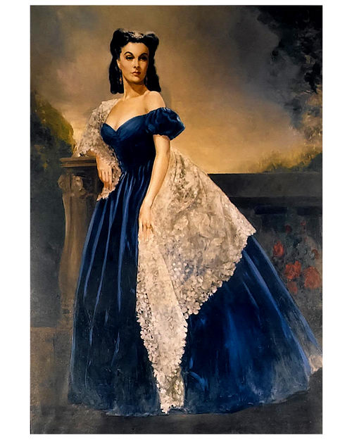 "scarlett ohara As author margaret mitchell put it, ""scarlett o'hara was not beautiful, but men seldom realized it"" sure, scarlett had the smallest waist in three counties at a mere 17 inches (eek), but."