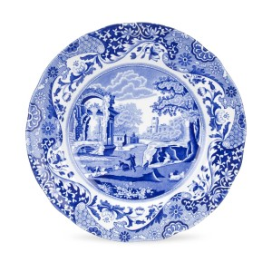 A good crockery criminologist could tell you that the possessor of this plate loves Jane Austen too much to commit murder.