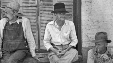 resting Southern men