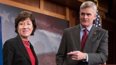 Senator cassidy and senator collins